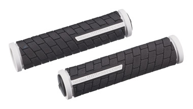 BBB Dualgrip Grips 125mm - Black/White