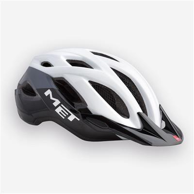 Met Crossover 2017 MTB Helmet - Medium (52-59cm) - White/Black