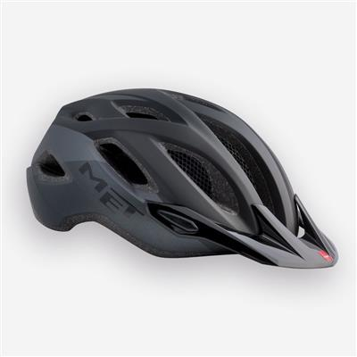 MET Crossover 2017 MTB Helmet - Medium (52-59cm) - Matt Black