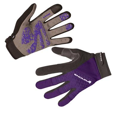 Endura Hummvee Plus Womens Gloves - Small - Purple