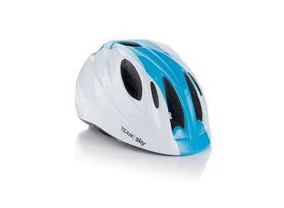 Frog Team Sky Kids Helmet - Small (46-53cm) - White/Blue