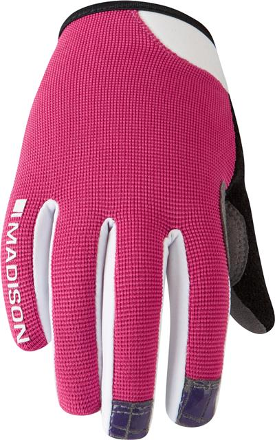 Madison Kids Trail Gloves - Small - Bright Berry
