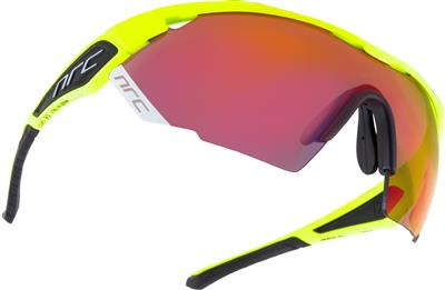 NRC X3 Angliru Sunglasses - Shiny Fluo Yellow
