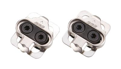 BBB Click&Go Shimano SPD Compatible Cleats - Silver