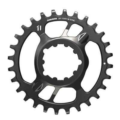 SRAM X-Sync 11 Speed Single 32 Tooth Direct Mount Steel Chainring (3mm offset) - Black