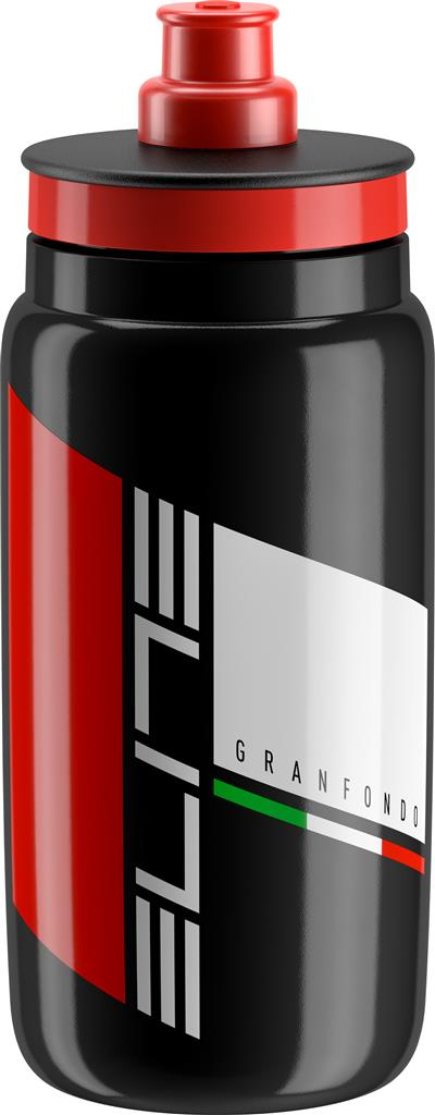 Elite Fly Granfondo 550ml Water Bottle - Black