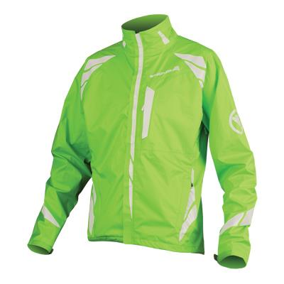 Endura Luminite II Mens Jacket - Hi-Viz Green