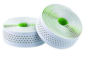 Merida Pro Road Dots Bar Tape - White/Green