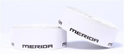 Merida 3D Logo Bar Tape - White/Black