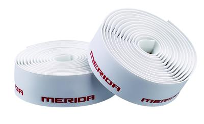 Merida 3D Logo Bar Tape - White/Red