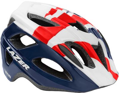 Lazer P'Nut Youth Helmet - One Size (52-57cm) -British Cycling