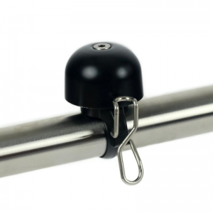 Widek Paperclip Mini Bell - Black