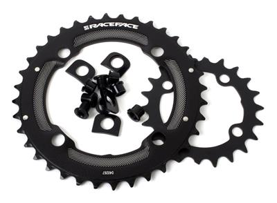 Race Face Ride 9/10 Speed 36/22 Tooth 104/64BCD Chainring Set - Black