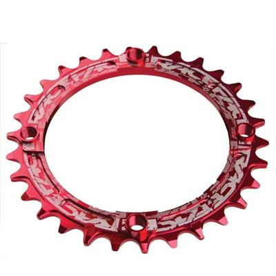 Race Face Narrow/Wide 9-11 Speed 32 Tooth 104BCD Chainring - Red