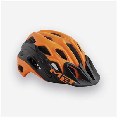 MET Lupo 2018 MTB Helmet - Medium (54-58cm) - Orange/Black