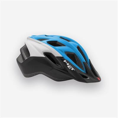 MET Funandgo 2018 MTB Helmet - Medium (54-61cm) - Cyan/White/Black