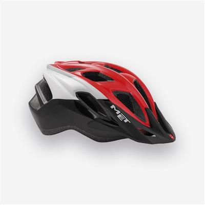 MET Funandgo 2018 MTB Helmet - Medium (54-61cm) - Red/White/Black