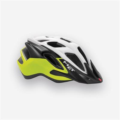 MET Funandgo 2018 MTB Helmet - Medium (54-61cm) - White/Safety Yellow/Black