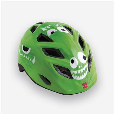 MET Elfo 2018 Kids Helmet - One Size (46-53cm) - Green Monster