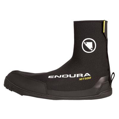 Endura MT500 Plus Overshoes - Large/XL - Black