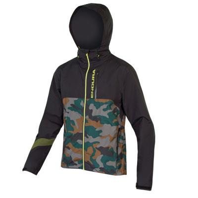 Endura Singletrack II Mens Jacket - Large - Camouflage