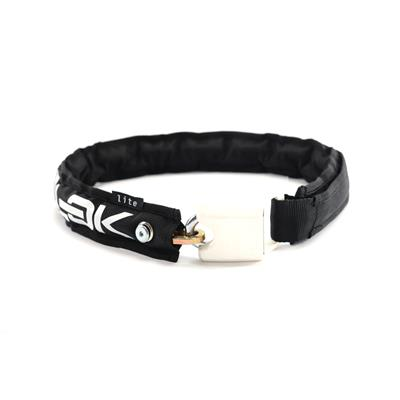 Hiplok Lite Wearable Chain Lock (Bronze Sold Secure) 75cm x 6mm - Black/White