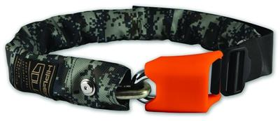 Hiplok Lite Wearable Chain Lock (Bronze Sold Secure) 75cm x 6mm - Urban Camo