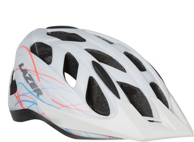 Lazer Pearl Womens MTB Helmet - Medium (55-59cm) - White Swirls