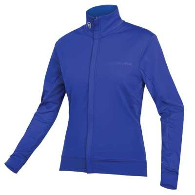 Endura Womens Xtract Roubaix Long Sleeve Jersey - Small - Cobalt Blue