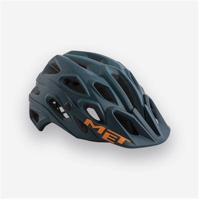 MET Lupo 2018 MTB Helmet - Medium (54-58cm) - Blue Oil