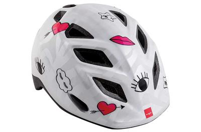MET Elfo 2018 Kids Helmet - One Size (46-53cm) - White Icon