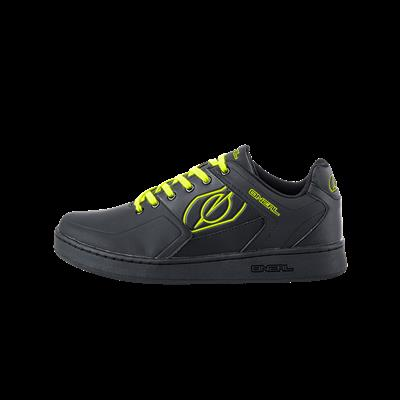 Oneil Pinned Pedal Shoes - Black/Yellow