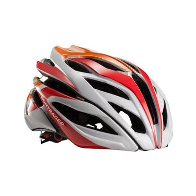 Bontrager Specter Road Helmet - Small (51-57cm) -White/Red/Orange