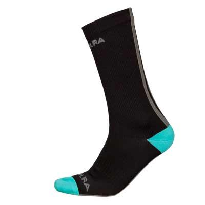 Endura Hummvee Waterproof Mid Length Socks (Single) - Black