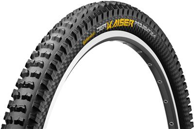 Continental Der Kaiser Projekt Protection  Black Chilli Folding Tyre - 26 x 2.4