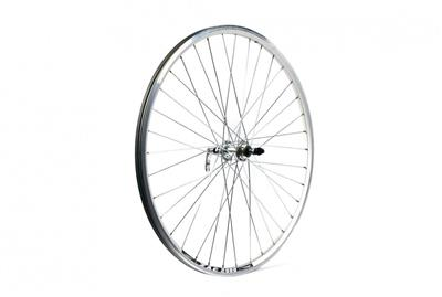 Wilkinson 700c Alloy Freewheel Hybrid Rear Wheel - Black