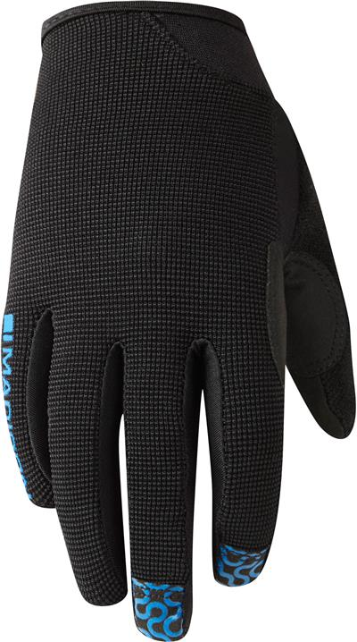 Madison Trail Kids Gloves - Medium - Black/Blue