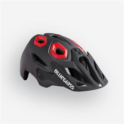 Bluegrass Golden Eyes MTB Helmet - Medium (56-59cm) - Black/Red