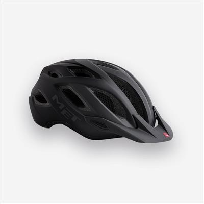 MET Crossover XL 2018 MTB Helmet - One Size (60-64cm) - Matt Black