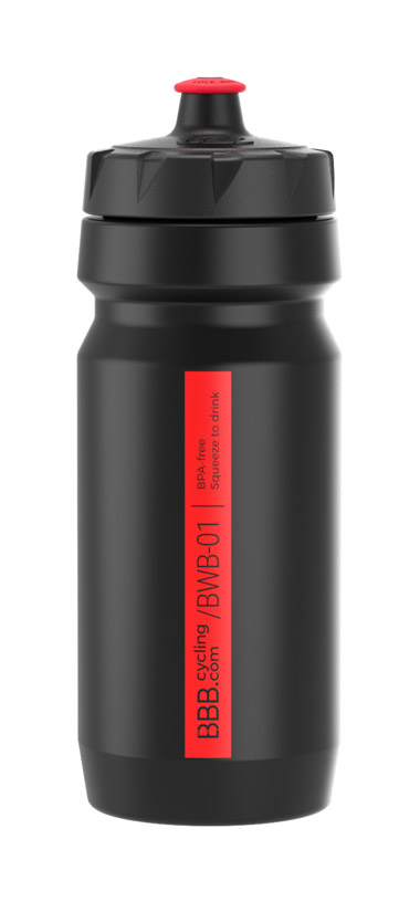 BBB Comptank Water Bottle 550ml - Black/Red