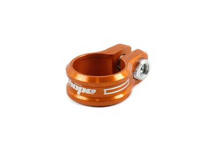 Hope Alloy Bolted Seat Clamp - 36.4mm - Orange