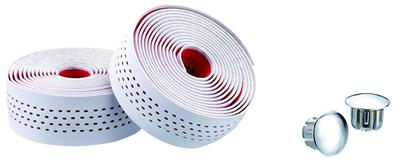 Merida Pro Road Dots Bar Tape - White/Red