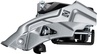 Shimano Altus M2000 9 Speed Triple Front Derailleur Top Swing - Black