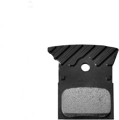 Shimano L04c Alloy Backed Metal Sintered Brake Pads With Cooling Fins