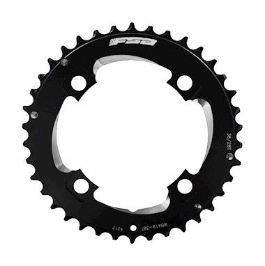 FSA Pro MTB 11 Speed Double 38 Tooth 104BCD Chainring - Black