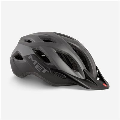Met Crossover XL 2019 MTB Helmet - One Size (60-64cm) - Grey Black Matt