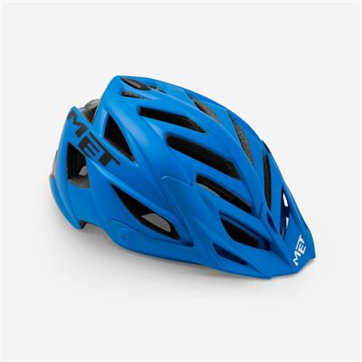 MET Terra 2018 MTB Helmet - One Size (54-61cm) - Blue Black Matt