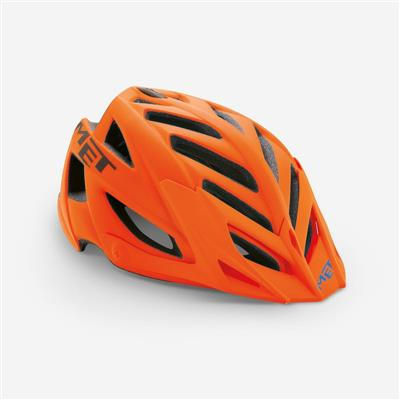 MET Terra 2018 MTB Helmet - One Size (54-61cm) - Orange Black Matt
