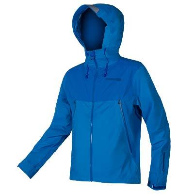 Endura MT500 Mens Waterproof Jacket - Azure Blue