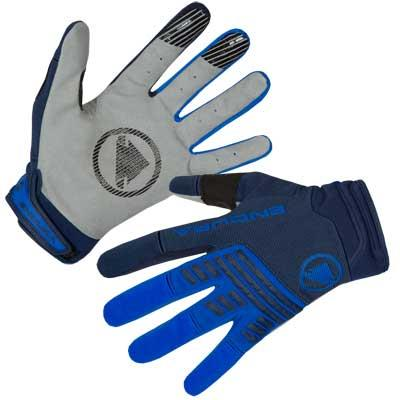 Endura Singletrack Mens Gloves - Navy